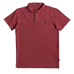 Quiksilver Everyday Sun Cruise Polo Shirt - Red