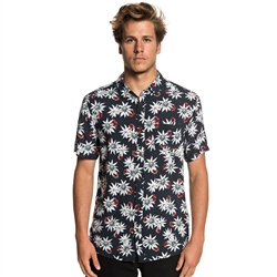 Quiksilver Fluid Geometric Shirt - Blue