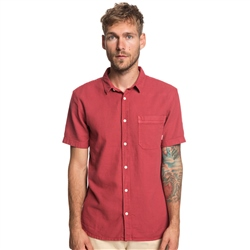 Quiksilver Time Box Shirt - Red