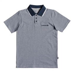 Quiksilver Living Vroom Polo Shirt - Navy
