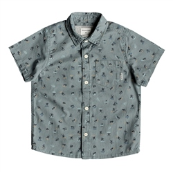 Quiksilver Mini Motif Shirt - Sea