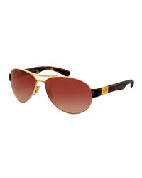 Ray-Ban Tortoise Shell Aviator Sunglasses
