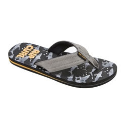Rip Curl Ripper Flip Flops  - Grey & Orange
