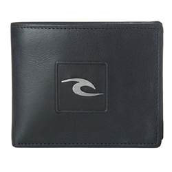 Rip Curl Rider Leather Wallet - Black