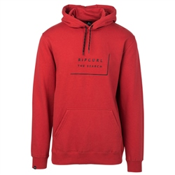 Rip Curl Daily Hoody - Red