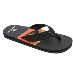Rip Curl Bob Cush Flip Flops  - Black & Orange