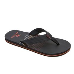 Rip Curl Ripper Flip Flops  - Black & Red
