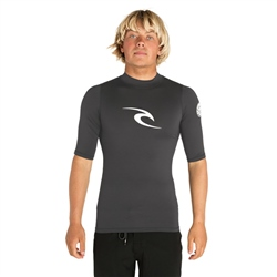 Rip Curl Corpo UV T-Shirt - Dark Grey