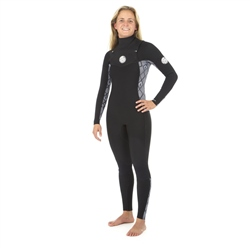 Rip Curl Dawn Patrol 4/3mm Wetsuit - Black & White