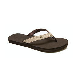 Rip Curl P-Low Flip Girls Flops  - Champagne