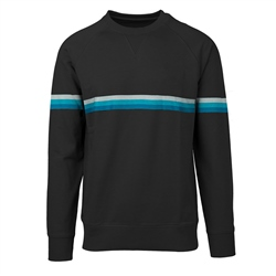 Rip Curl Rainbow Stripe Sweatshirt - Black