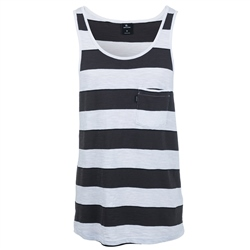 Rip Curl Behind Bars Tank Top  - Optical White