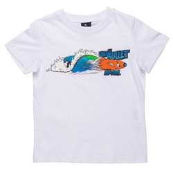 Rip Curl Fast Bullet Groms T-Shirt  - Optical White