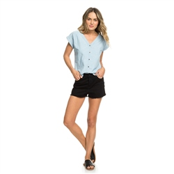 Roxy Feel Bronx Top - Light Blue