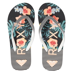 Roxy Pebble VI Flip Flops - Multi