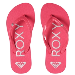 Roxy Sandy II Flip Flops - Berry