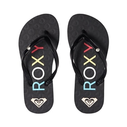 Roxy Sandy II Flip Flops - Black