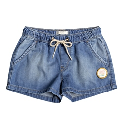 Roxy Timeless Denim Shorts - Blue