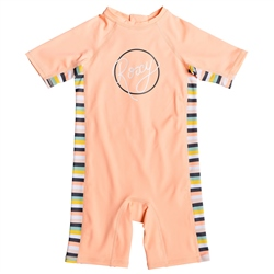 Roxy Lets Go Sunsuit - Salmon