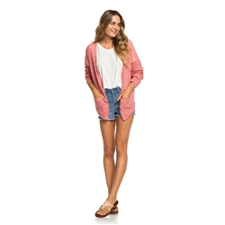 Roxy Liberty Cardigan - Brandied Apricot