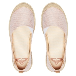 Roxy Flora Slip On Shoes - Blush