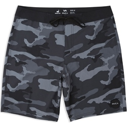 RVCA Va Trunk Print Boardshort - Black