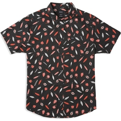 RVCA Gerrard Shirt   - Black