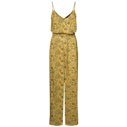 Vero Moda Simply Easy Jumpsuit - Gold Nugget