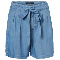 Vero Moda Mia Shorts - Light Blue Denim