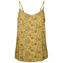 Vero Moda Simply Easy Vest - Gold Nugget