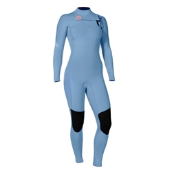 Vissla 7 Seas 4/3mm Wetsuit - True Blue