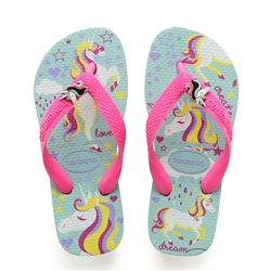 Havaianas Fantasy Flip Flops - Light Blue