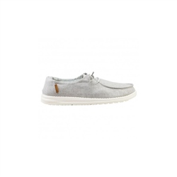 Hey Dude Shoes Wendy Chambray Shoes - Grey