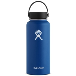 Hydro Flask Wide Mth 32oz Bottle - Cobalt