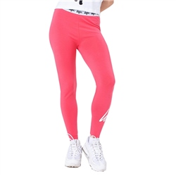 Hype Script Leggings - Pink & White