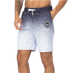 Hype Speckle Fade Boardshorts - Black & White