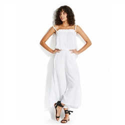 Seafolly Linen Trousers - White