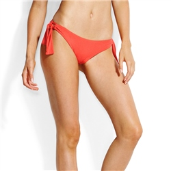 Seafolly SF Tie Hipster Bikini Bottoms - Red