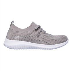 Skechers Ultra Flex Shoes - Taupe