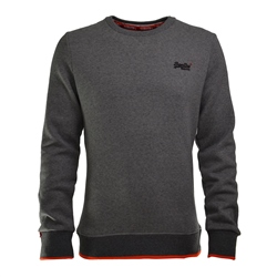 Superdry Hyper Pop Sweatshirt - Grey