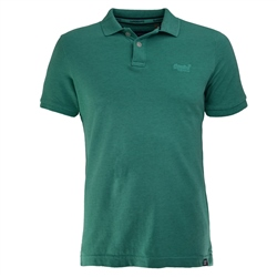 Superdry Destroyed Polo-Shirt - Aqua