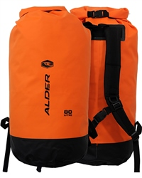 Alder 80L Dry Backpack - Orange