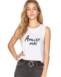 Amuse Society Radiate Love Vest - White