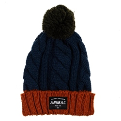 Animal Canye Beanie - Navy