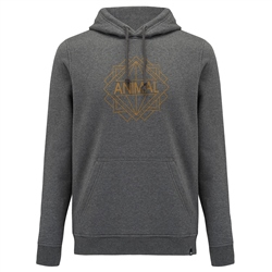 Animal Late Hoody - Dark Charcoal