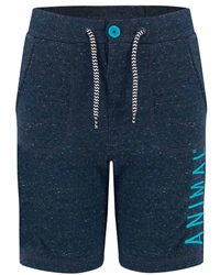 Animal Cove Jogger Shorts - Navy