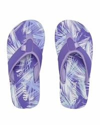 Animal Swish AOP Flip Flops - Iris