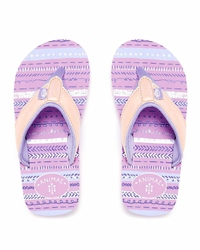 Animal Swish Glitz Flip Flops - Pink
