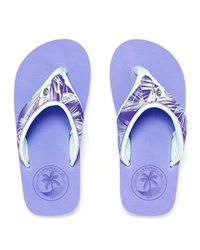 Animal Swish Upper AOP Flip Flops - Blue