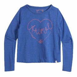 Animal Aniheart T-Shirt - Blue